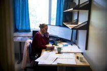 <p>Leder av koronateamet i Moss, Nina Urstad Christensen, driver intensiv jakt på nærkontakter.</p>