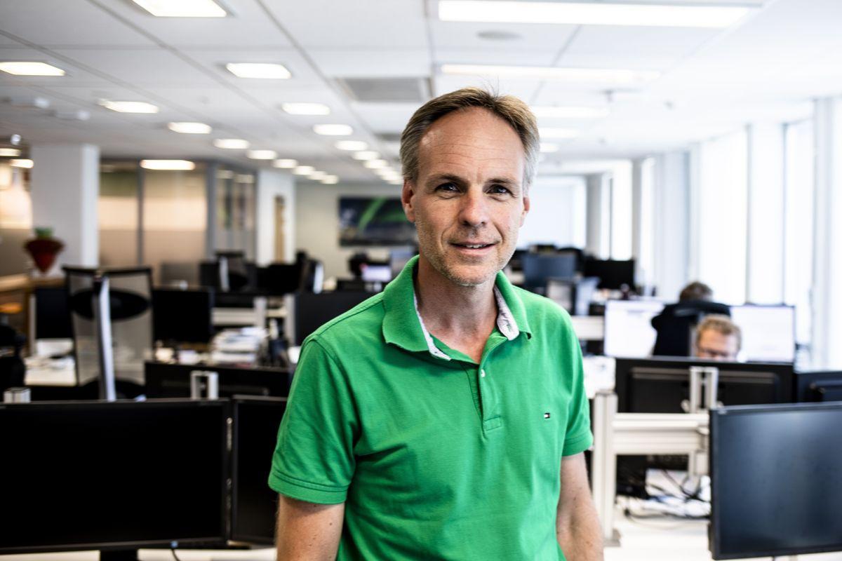 Utlånsdirektør Lars Strøm Prestvik i Kommunalbanken (KBN) er spent på hva november og desember vil bringe av kommunale gjeldstall.