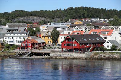 Inderøy ble i 2020 tildelt pris for for utviklingen i tettstedet Straumen.