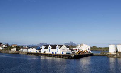 Innbyggerne i Vestvågøy slipper frivillig karantene. Her fra fiskeværet Stamsund.