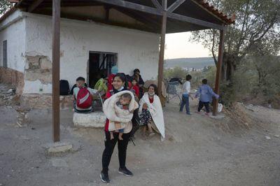 Situasjonen for migrantene i Moria-leiren på Lesvos er nå ytterligere forverret etter brannen natt til onsdag.