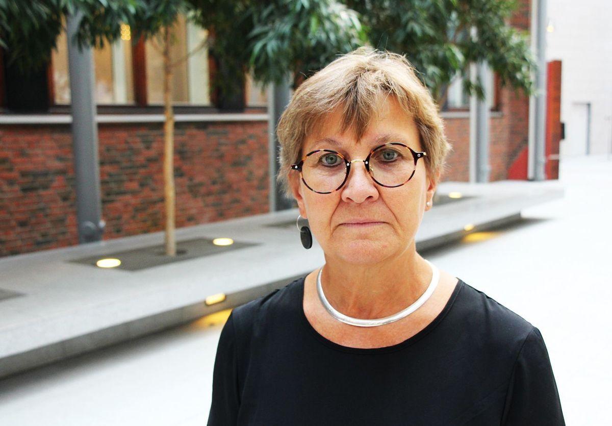 Leder Mette Nord i Fagforbundet frykter at den svake kommuneøkonomien vil gå ut over velferdstjenestene til innbyggerne.