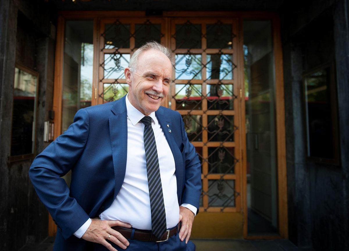 Ordfører Sture Pedersen (H) i Bø synes det er stas å bli kåret til Årets kommuneprofil blant så mange gode kandidater.