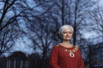 <p>Ordfører Anita Ravlo Sand i Levanger</p>