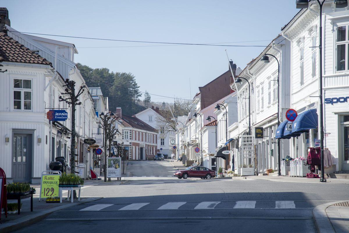 Den hvite by ved Skagerrak blir Risør kalt.