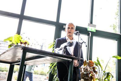 Ap-leder Jonas Gahr Støre lanserte forslag til nytt Ap-program sist uke.