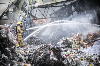 I 2018 ble store deler av anfallsanlegget til Norsk Gjenvinning ødelagt av brann.