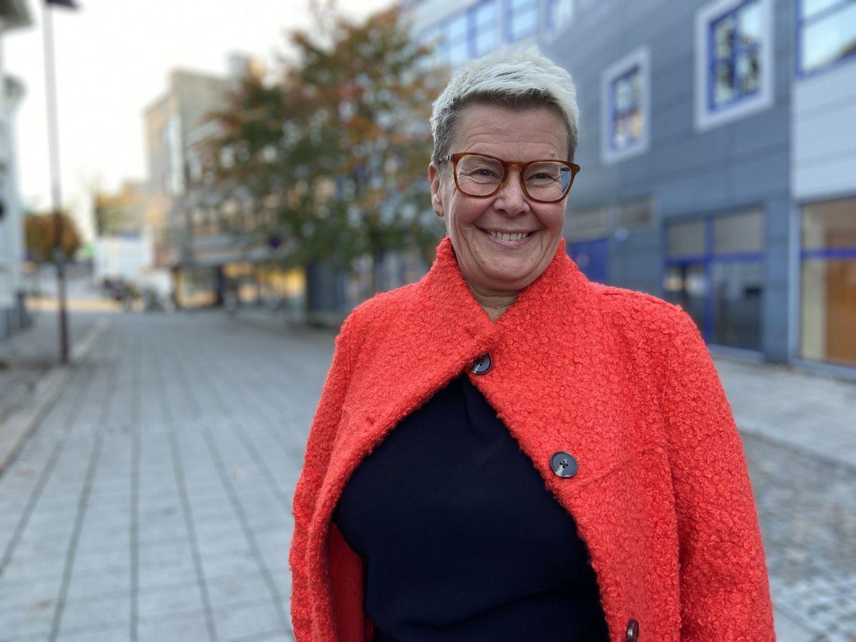 Gro Herheim, kommunedirektør i Larvik, er blant kommunedirektørene med lengst erfaring med hjemmekontor. Hun er også blant dem som er mest fornøyd, og som ønsker å videreføre ordningen også etter pandemien.