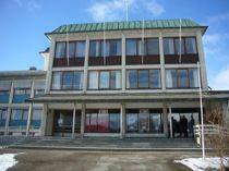 <p>Sortland rådhus og kino, slik det så ut da Riksantikvaren fredet bygget i 2014.</p>