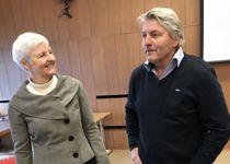 <p>Jeg opplever for ofte fra fylkesmannen at det «synses og menes», skriver ordfører Knut Kvale (Sp) i Øvre Eiker, her sammen med fylkesmann Valgerd Svarstad Haugland i Oslo og VIken.</p>