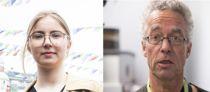 – Hvis jeg ikke får andreplassen, skal jeg få meg en utdannelse, sier Hulda Holtvedt (21). Rasmus Hansson sier at han kun er interessert i andreplassen, siden han ikke har tid til å være vararepresentant.