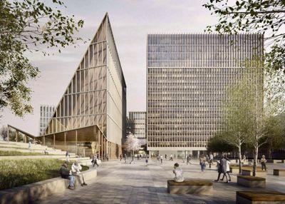 Team Urbis vant Statsbyggs designkonkurranse om det nye regjeringskvartalet i 2017.