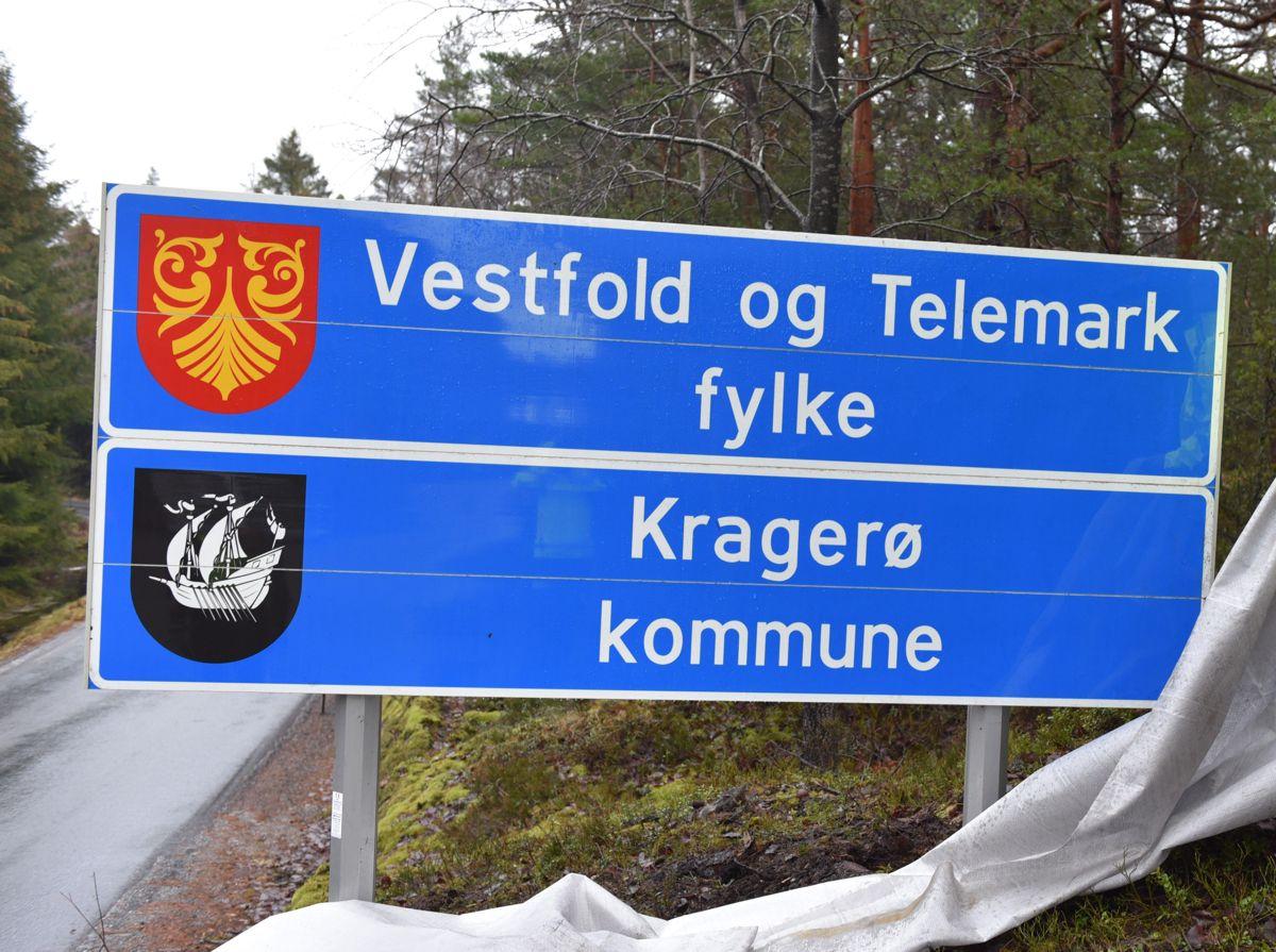 Vestfold og Telemark fylke er ikke så populære blant sine innbyggere, viser målingen fra InFact.