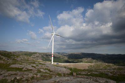 Turbinene i Vardafjellet vindkraftverk må stanses fram til man har fått fikset problemene.
