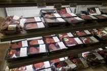 Ferskt kjøtt i hyllene på Coop på Skøyen i Oslo. Oslo er eneste fylke som går inn for kjøttkutt som klimatiltak.