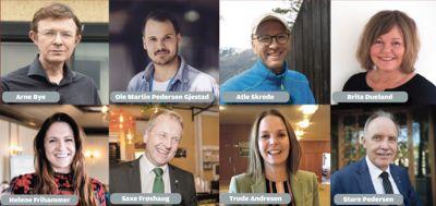 Dette er de åtte kandidatene til Årets kommuneprofil.