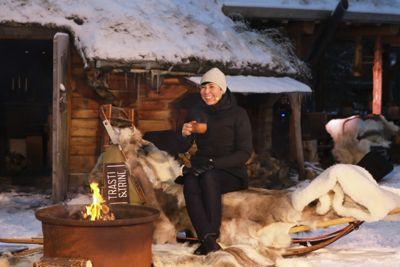 Utenriksminister Ine Eriksen Søreide (H) presenterte stortingsmeldingen om nordområdene i Alta sist fredag.