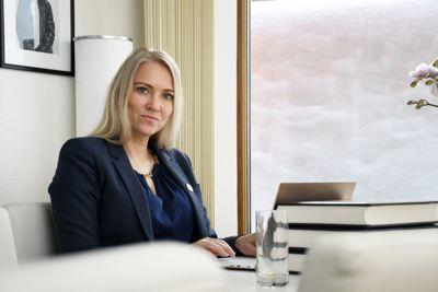 Leder i Sykepleierforbundet; Lill Sverresdatter Larsen.