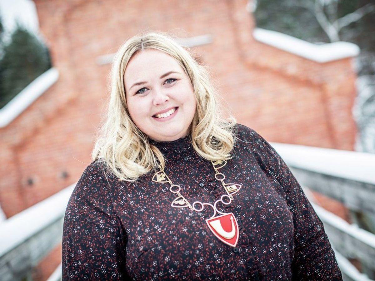 Ordfører i Løten, Marte Larsen Tønseth (Sp), er fornøyd med søkerlista til topplederjobben i Løten.