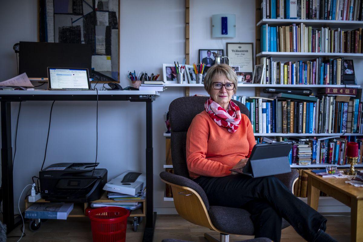 Jeløya/Moss Gudrun Grindaker Foto: Magnus Knutsen Bjørke