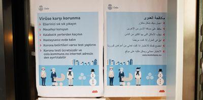 Informasjon på eget språk er viktig for at smittevernråd skal nå ut til de ulike innvandrergruppene.
