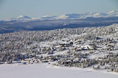 Ringsaker er landets største hyttekommune. Her fra Sjusjøen