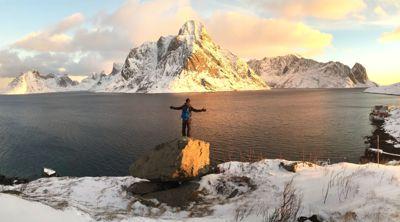 Reiselivsbransjen i Nordland sliter i økonomisk motvind. Selskapene får nå hjelp av fylkeskommunen. Her et glimt fra praktfulle Lofoten.