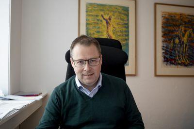 KS-leder Bjørn Arild Gram har ikke fått det løftet han ønsket seg for ressurskrevende brukere.