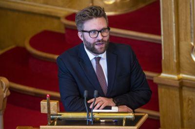 Høyres energi- og miljøpolitiske talsperson Stefan Heggelund har fått ansvar for å lose klimameldingen igjennom behandling i Stortinget.