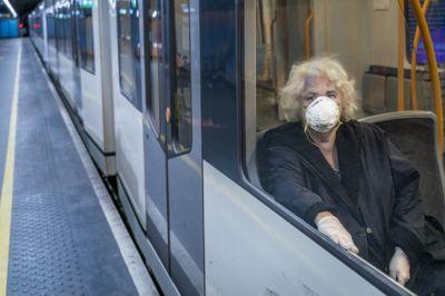 Trafikktallene for T-banen falt med 38 prosent i 2020, sammenlignet med året før. Det ble langt mellom de reisende da smitteverntiltakene ble satt inn.