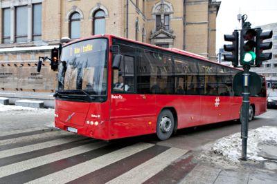 Ruters bussjåfører er blant dem som er tatt ut ved en eventuell streik.