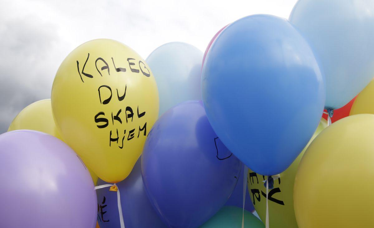 Også de mest fortvilte og kritiske røstene må kunne uttrykke seg og føle seg akseptert, skriver Mette Sønderskov og Tommy Thompson. Bildet er fra en demonstrasjon mot barnevernet i 2016.