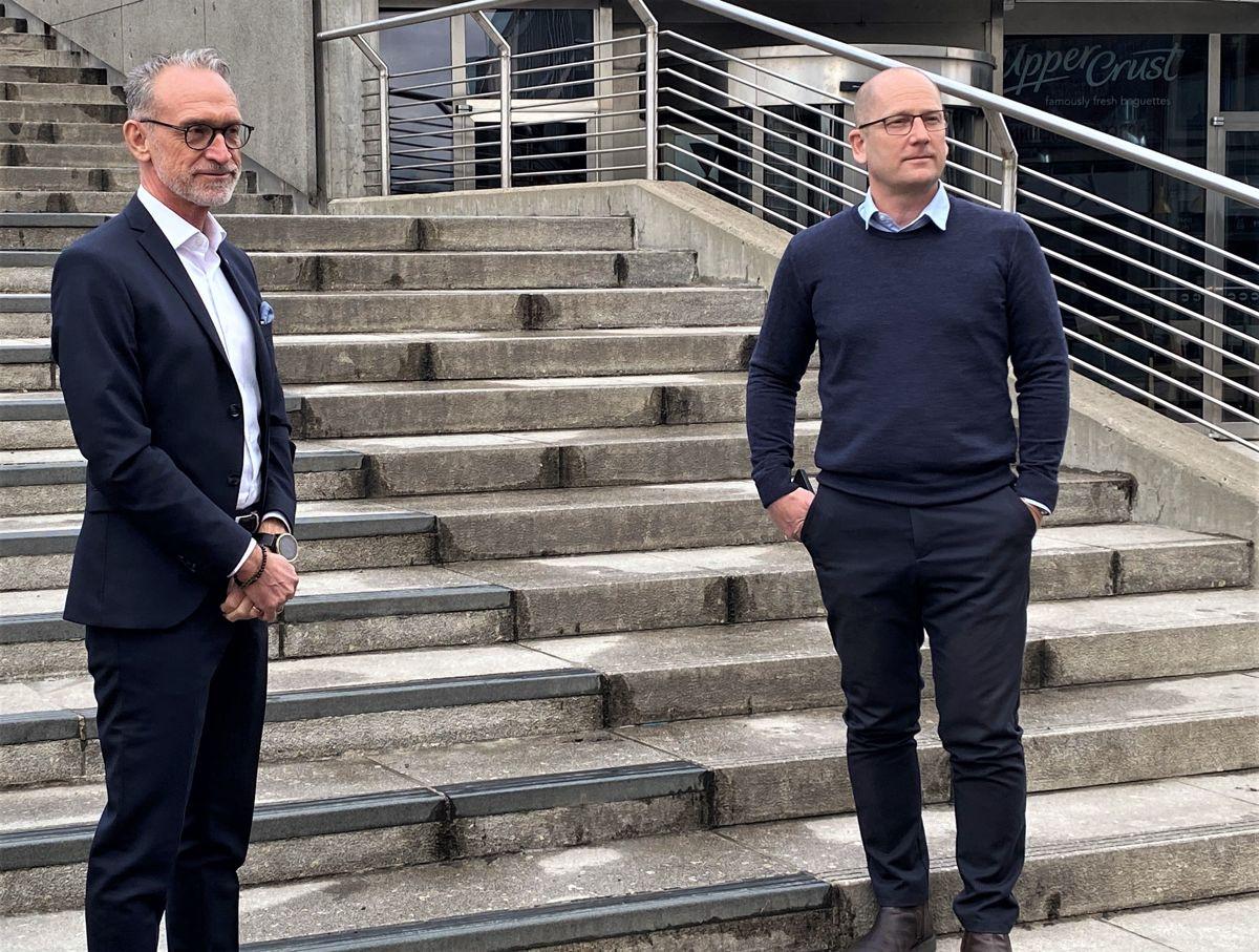 Mye tyder på at avstanden mellom forhandlingsleder Tor Arne Gangsø i KS og forhandlingsleder Steffen Handal i Unio kommune fortsatt er stor.