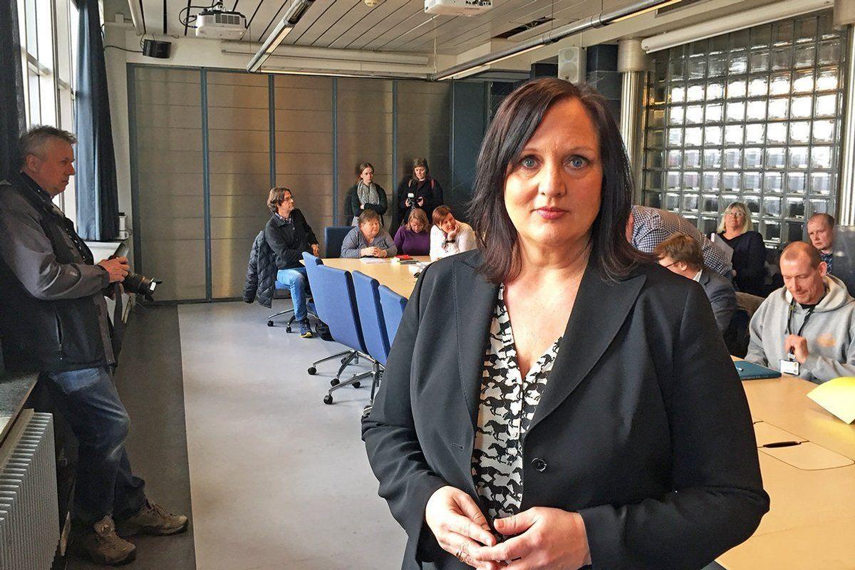 Forhandlingsleder Aina Skjefstad Andersen i Unio Oslo kommune mener ansatte med høyere utdanning i offentlig sektor må prioriteres i årets mellomoppgjør.