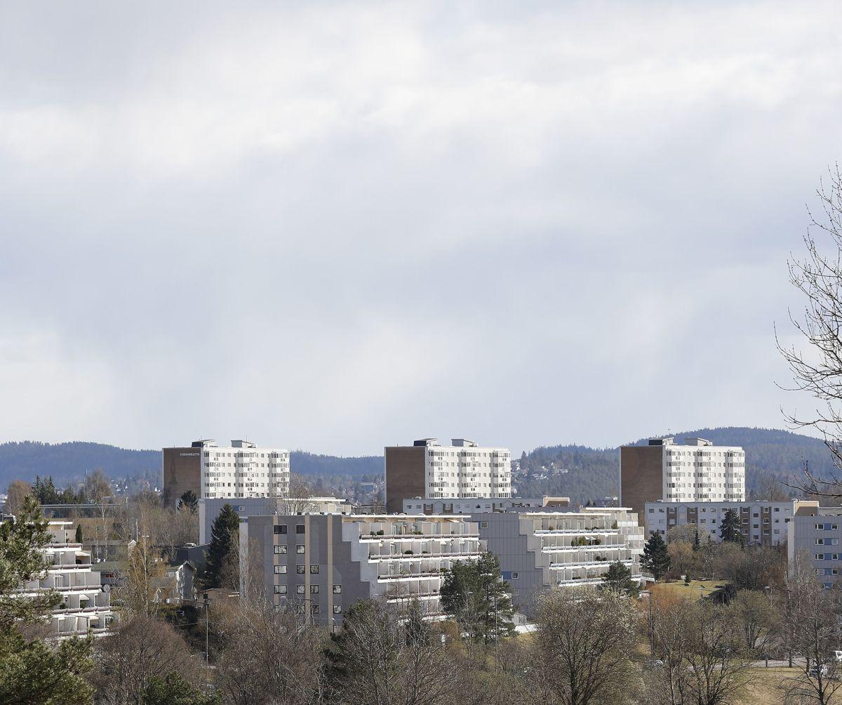 Storbyene vil ha flere verktøy i boligpolitikken. Bildet er fra Vestli i Oslo.