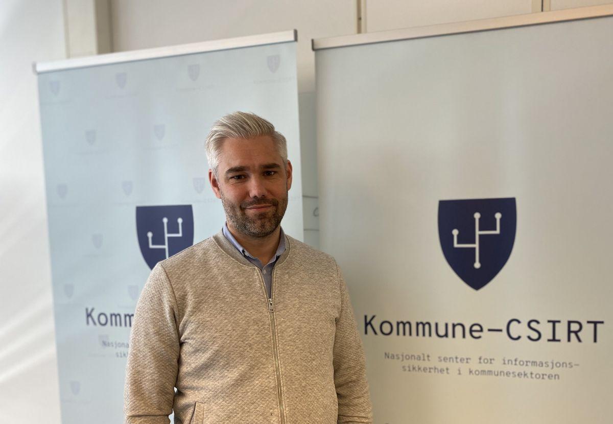 Kundekontakt Ole Anders Ulsrud i Kommune-CSIRT merker at kommunene har økt bevissthet rundt datasikkerhet etter at Østre Toten kommune ble utsatt for et løsepengevirus i januar.
