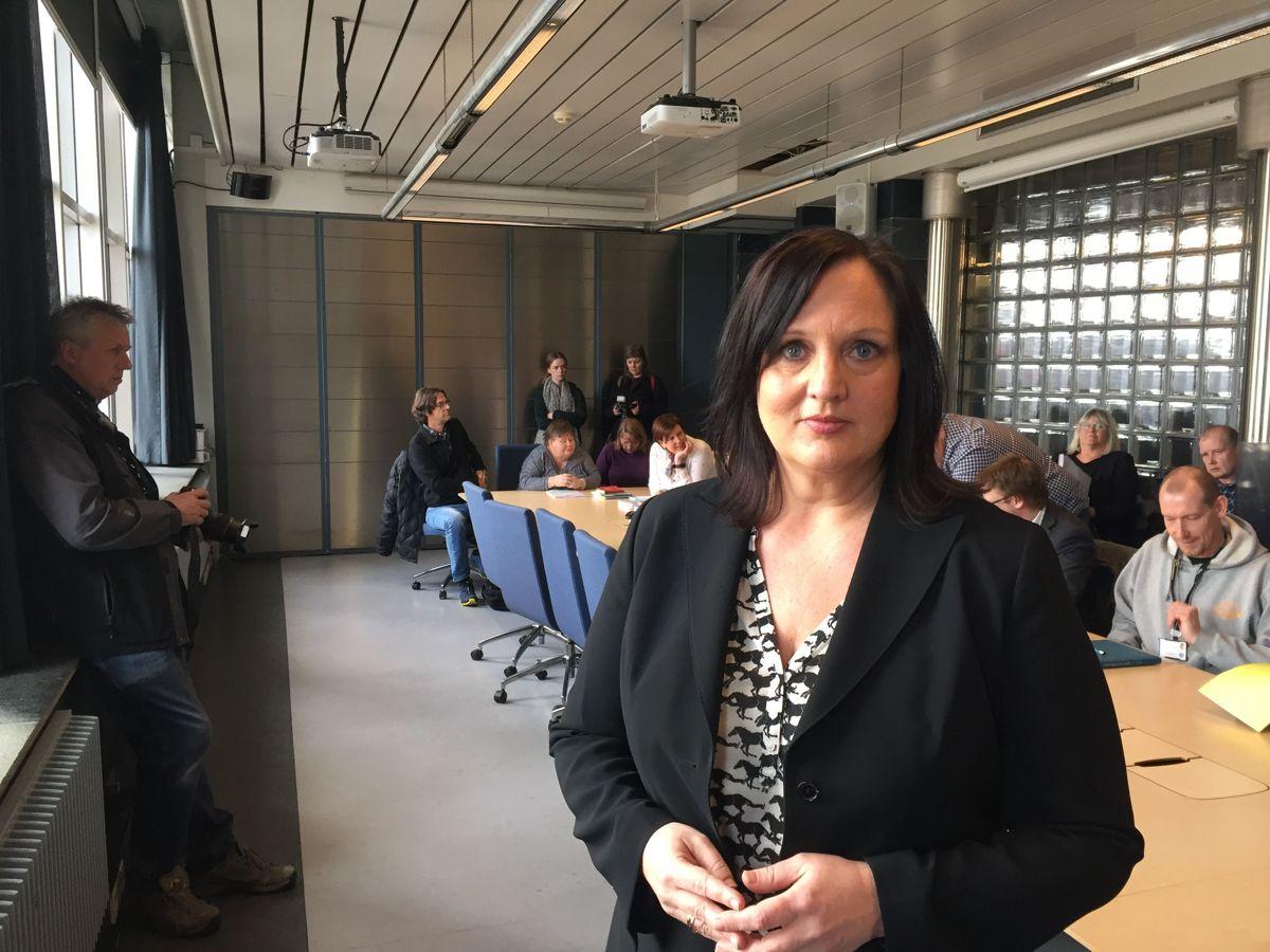 Forhandlingsleder i Unio Oslo kommune Aina Skjefstad Andersen er særlig bekymret for rekrutteringsutfordringene i kommunen.