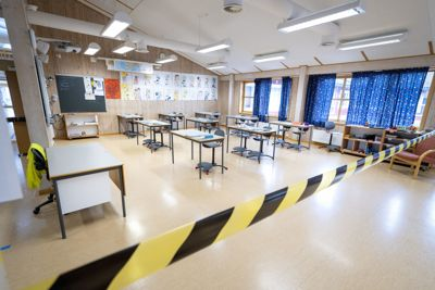 Som følge av økt smittetrykk måtte hver fjerde skole holde helt eller delvis stengt i vinter. Hardest rammet var Oslo-skolene.