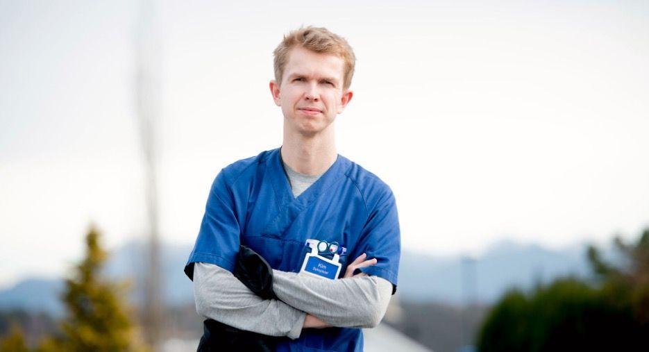MINDRE STRESS: Innføringen av Evondos i hjemmetjenesten til Stavanger kommune har gitt sykepleier Kim Tollefsen en mindre stressende arbeidshverdag.