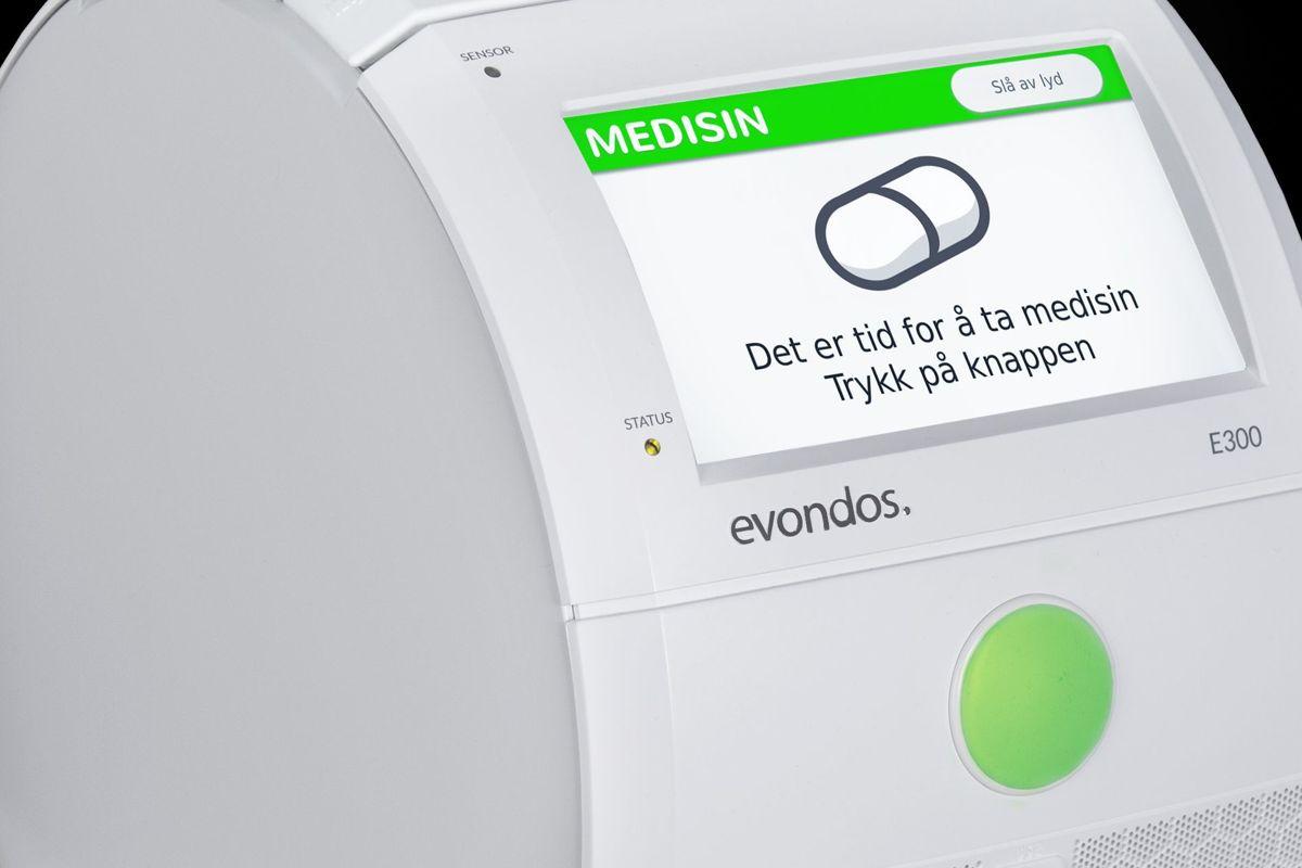 Det eneste brukeren trenger å gjøre, er å trykke på den grønne knappen.