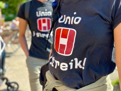 Det kan bli flere streikende Unio-medlemmer å se i neste uke.