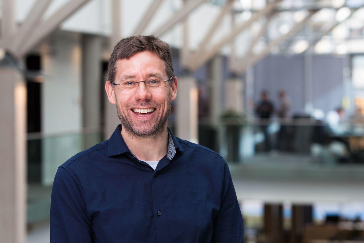 Knut Fredrik Sæther er kundeansvarlig for Geodatas kommunekunder. Han ser store muligheter for Geodata Origo ute blant kommunene som ønsker å satse på digitalisering og automatisering.