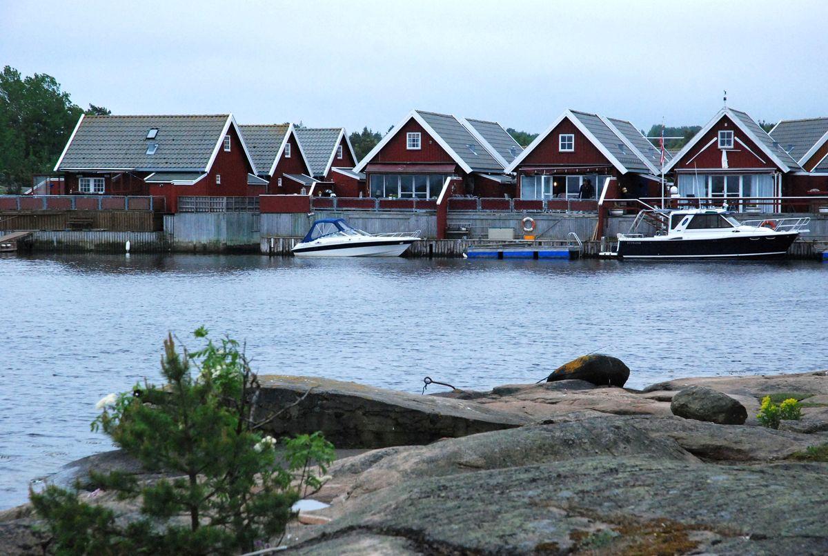 Hvaler er en kommune med mange hytter og gjester.