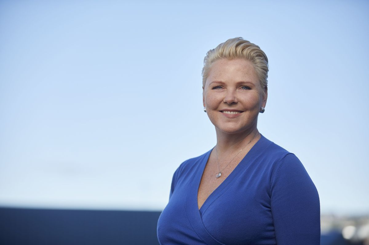 Sp-nestleder og fylkesråd i Viken, Anne Beathe Tvinnereim, er med på ukas møte i Kontrollutvalget, kommunal Rapports podkast.