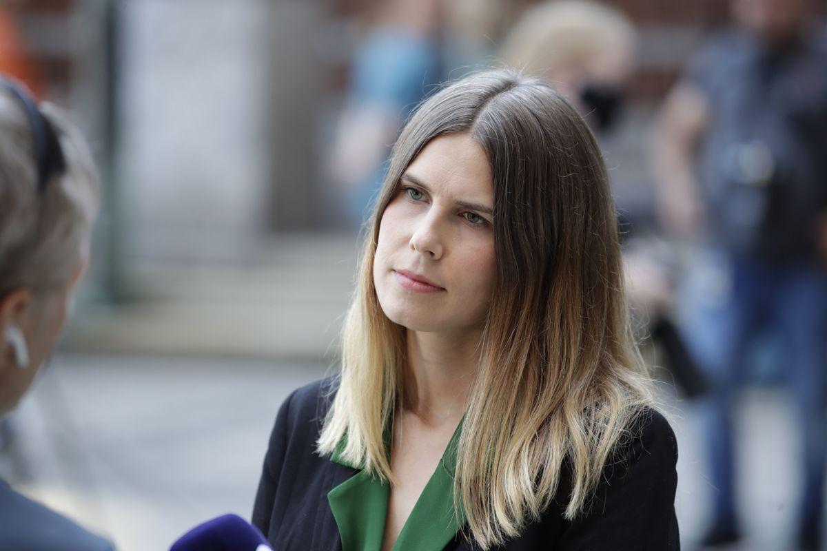 Sirin Stav (MDG) tar over som byråd for miljø og samferdsel i Oslo etter sin partifelle Lan Marie Berg.