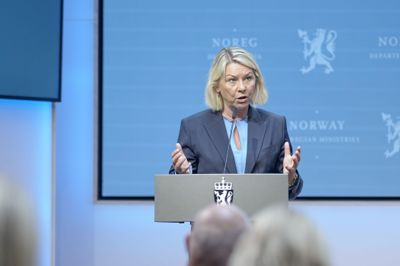 Justisminister Monica Mæland (H).