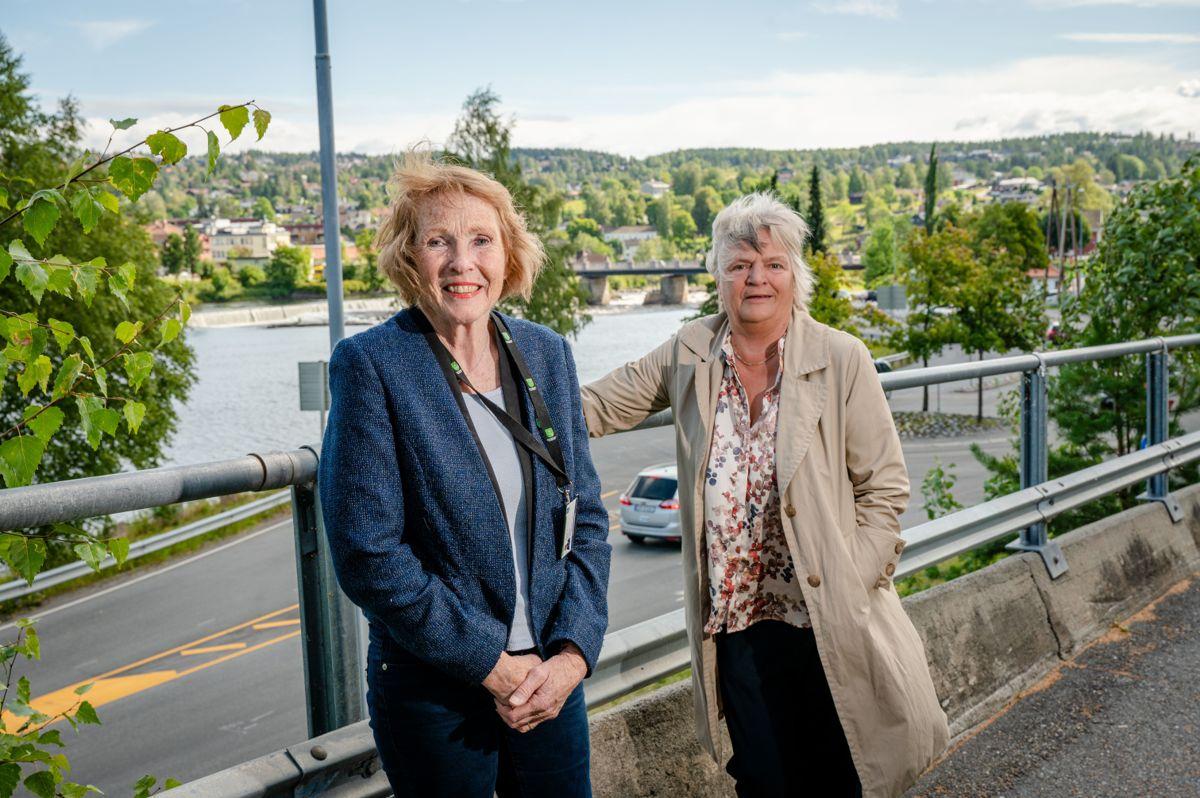 Gruvebyen Kongsberg kommer ut på topp i Kommunal Rapports kommunebarometer for 2021. Det er rådmann Wenche Nedberg Grinderud og ordfører Kari Anne Sand (Sp) svært fornøyd med.