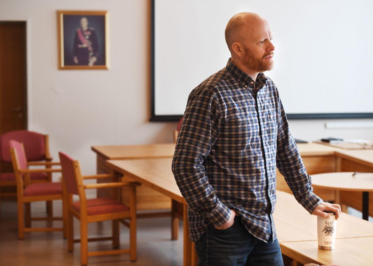 Ordfører Pål Terje Rørby (Sp) har knapt rukket å se på søkerlista til kommunedirektørjobben. Han håper at ny toppleder er på plass innen fire-fem måneder.