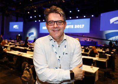 Tom Christer Nilsen var statssekretær i samferdselsdepartementet våren 2017, da han deltok på Høyres landsmøte. Etter en periode som fast stortingsrepresentant er han nå på søken etter ny jobb.