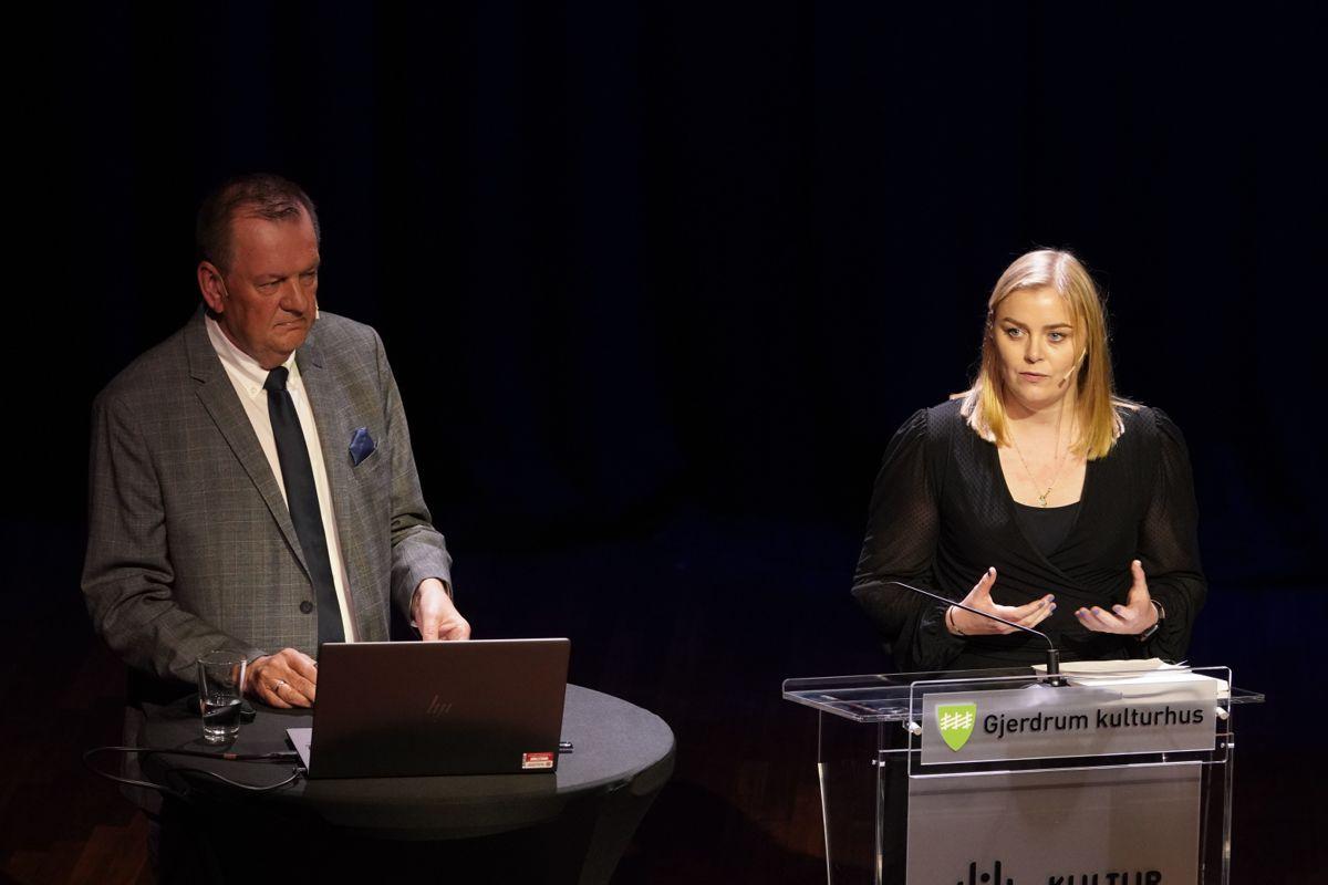 Gjerdrumutvalget overleverte onsdag fram første delrapport om årsakene til kvikkleireskredet i Ask til olje- og energiminister Tina Bru. Utvalget ledes av Inge Ryan.